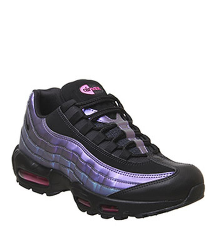 low priced 30b15 9b13d Launching 21-03-2019 · Nike Air Max 95 Trainers Black Black Laser Fuchsia