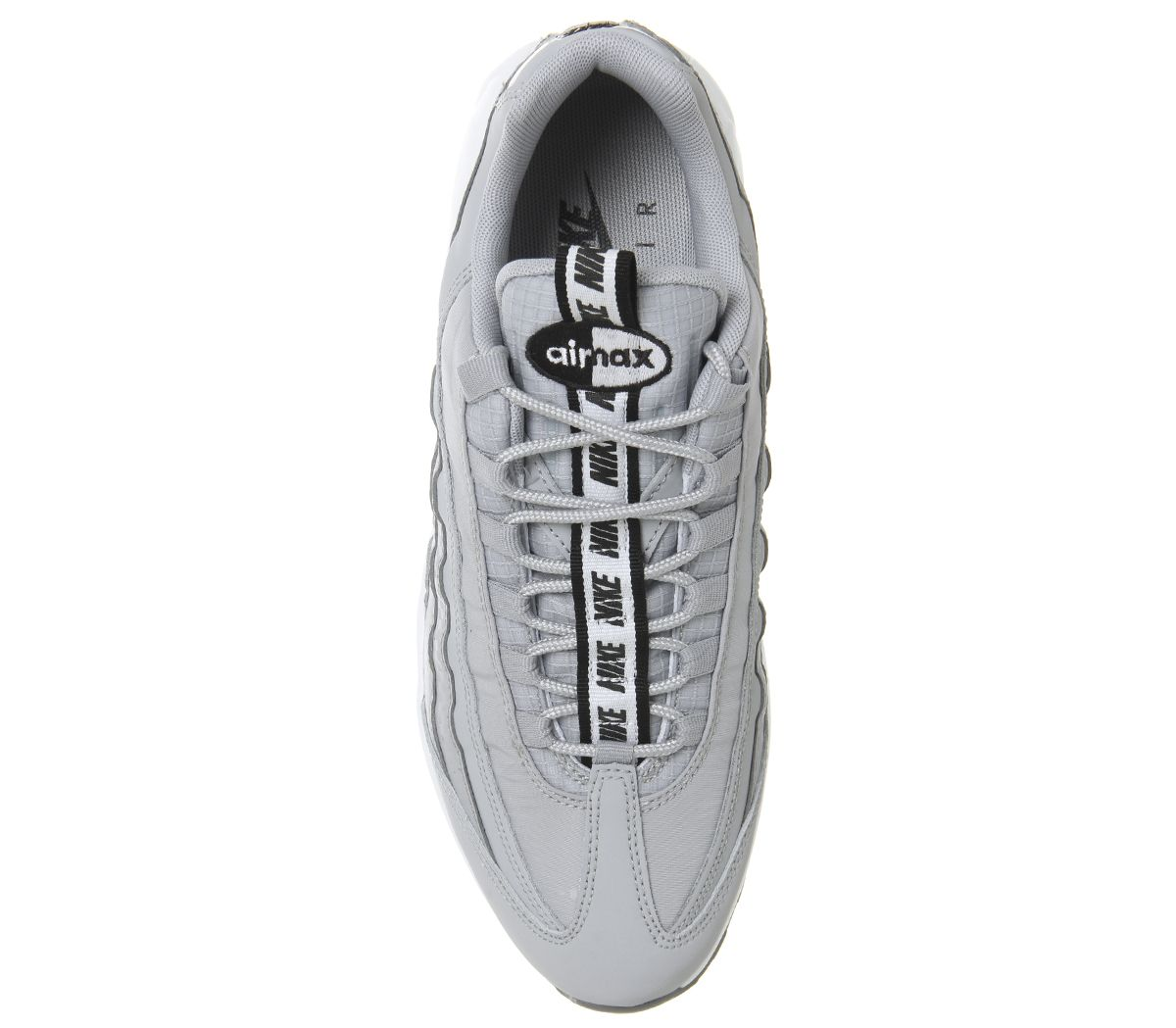 0cff7f2ced Air Max 95 Trainers. Air Max 95 Trainers. Double tap to zoom into the  image. Nike, Air Max 95 Trainers, Wolf Grey Black White Cool ...