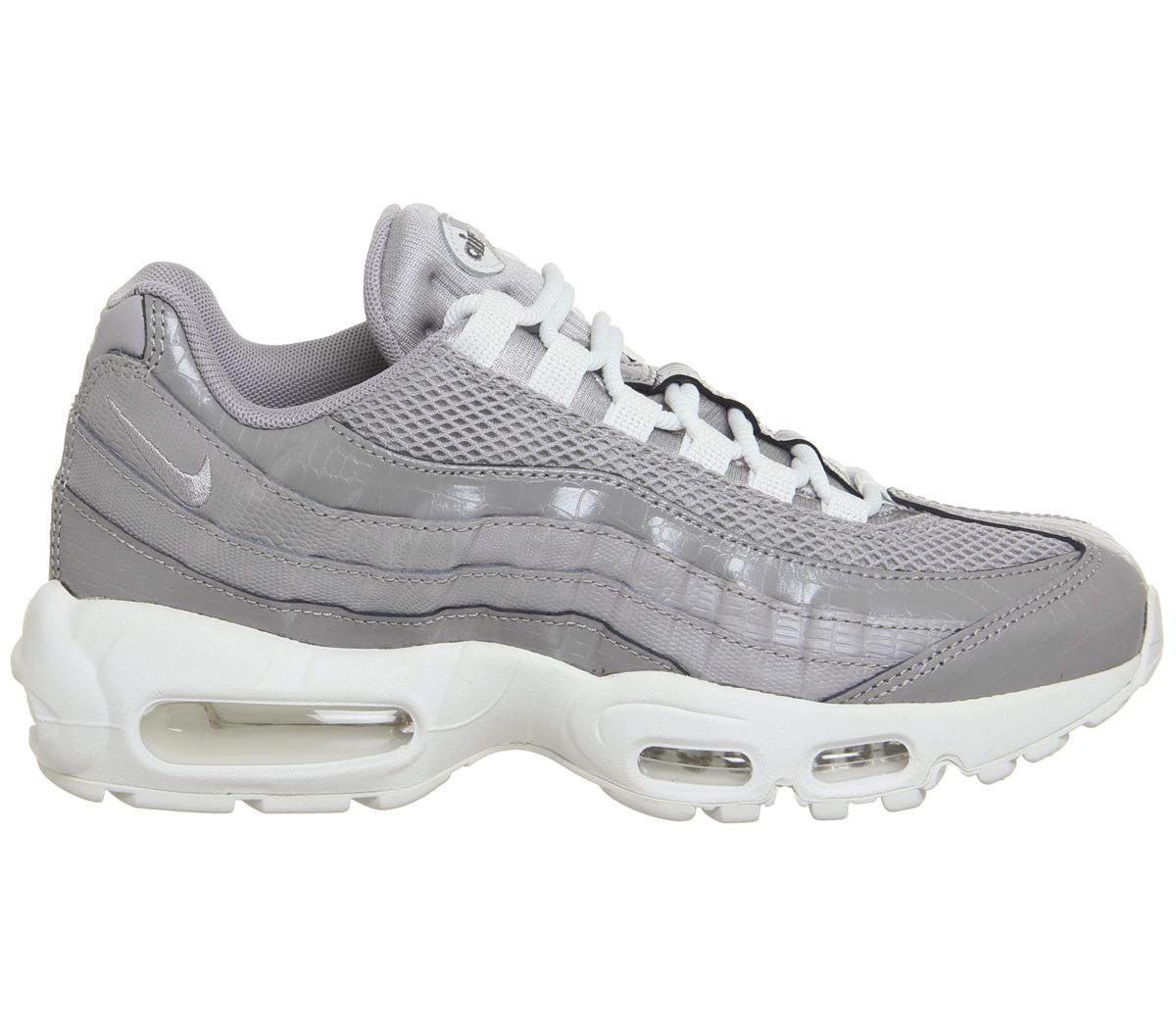 d6bc7869d8 Nike Air Max 95 Trainers Atmosphere Grey Atmosphere Grey F - Hers ...