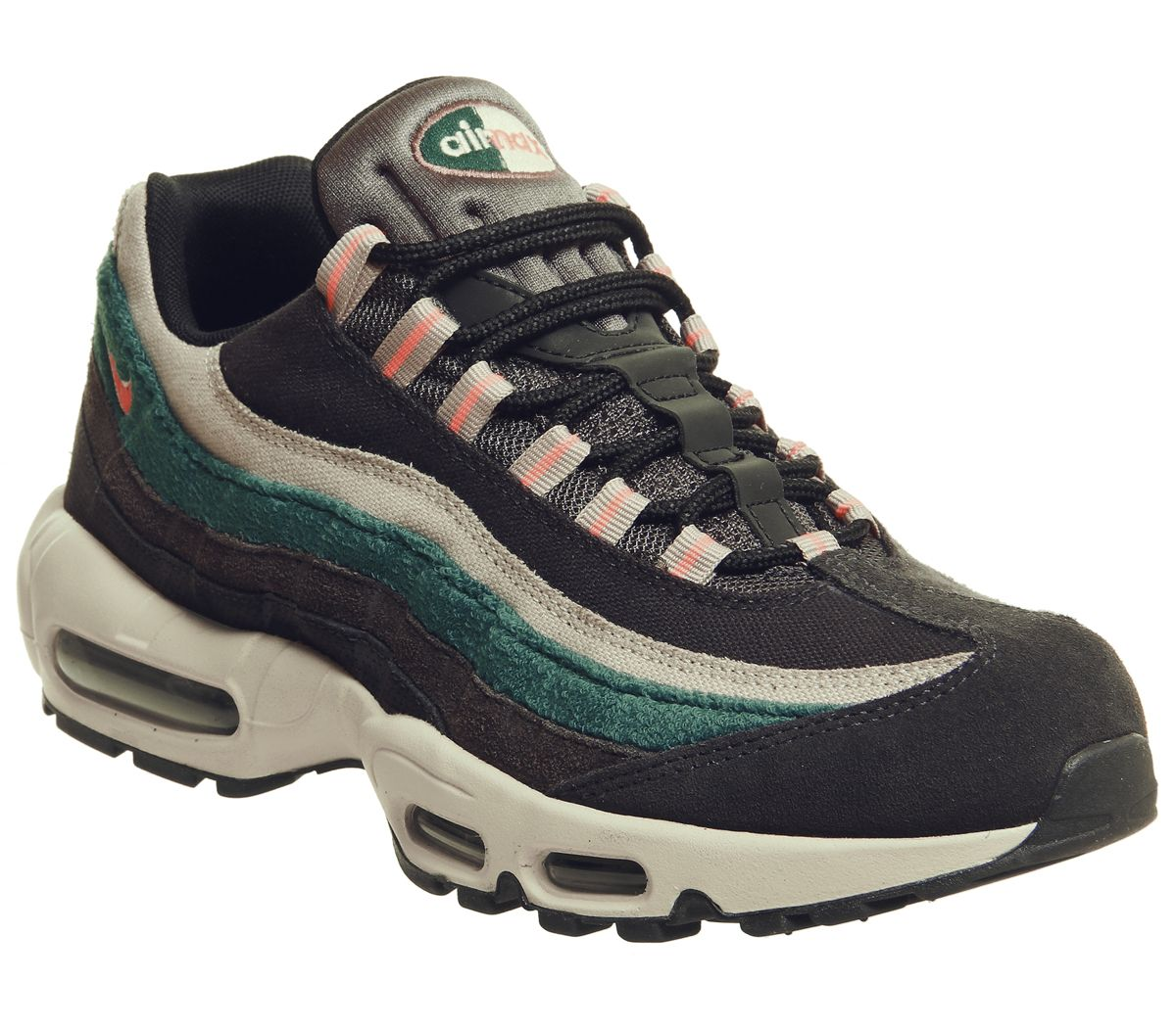 2bc3526fe8 Nike Air Max 95 Trainers Oil Grey Mango Thunder Grey - His trainers