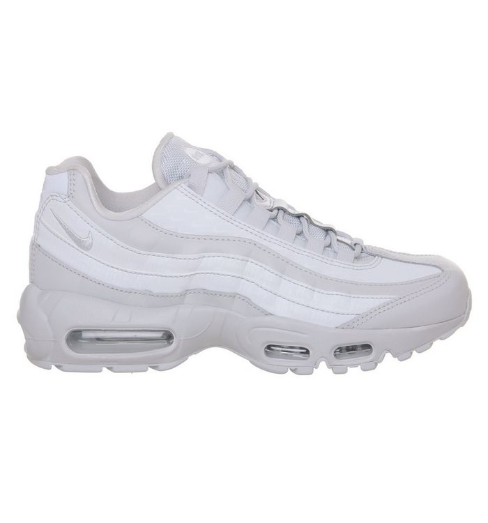 a088720b489cc Nike Air Max 95 Trainers Pure Platinum Lx - Hers trainers