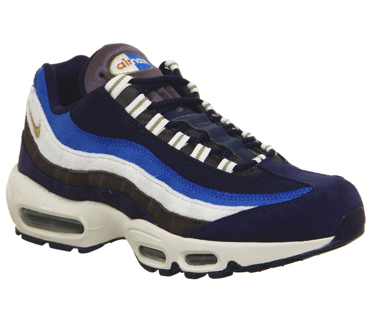 930bccc40b Nike Air Max 95 Trainers Blackened Blue - His trainers