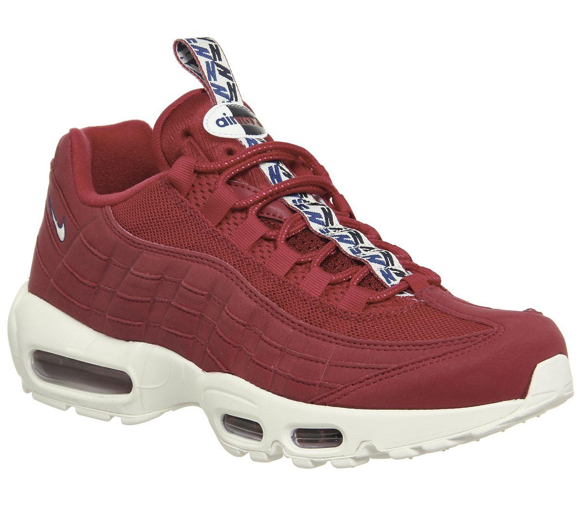 1a8f3e2637 Nike Air Max 95 Gym Red Sail - His trainers