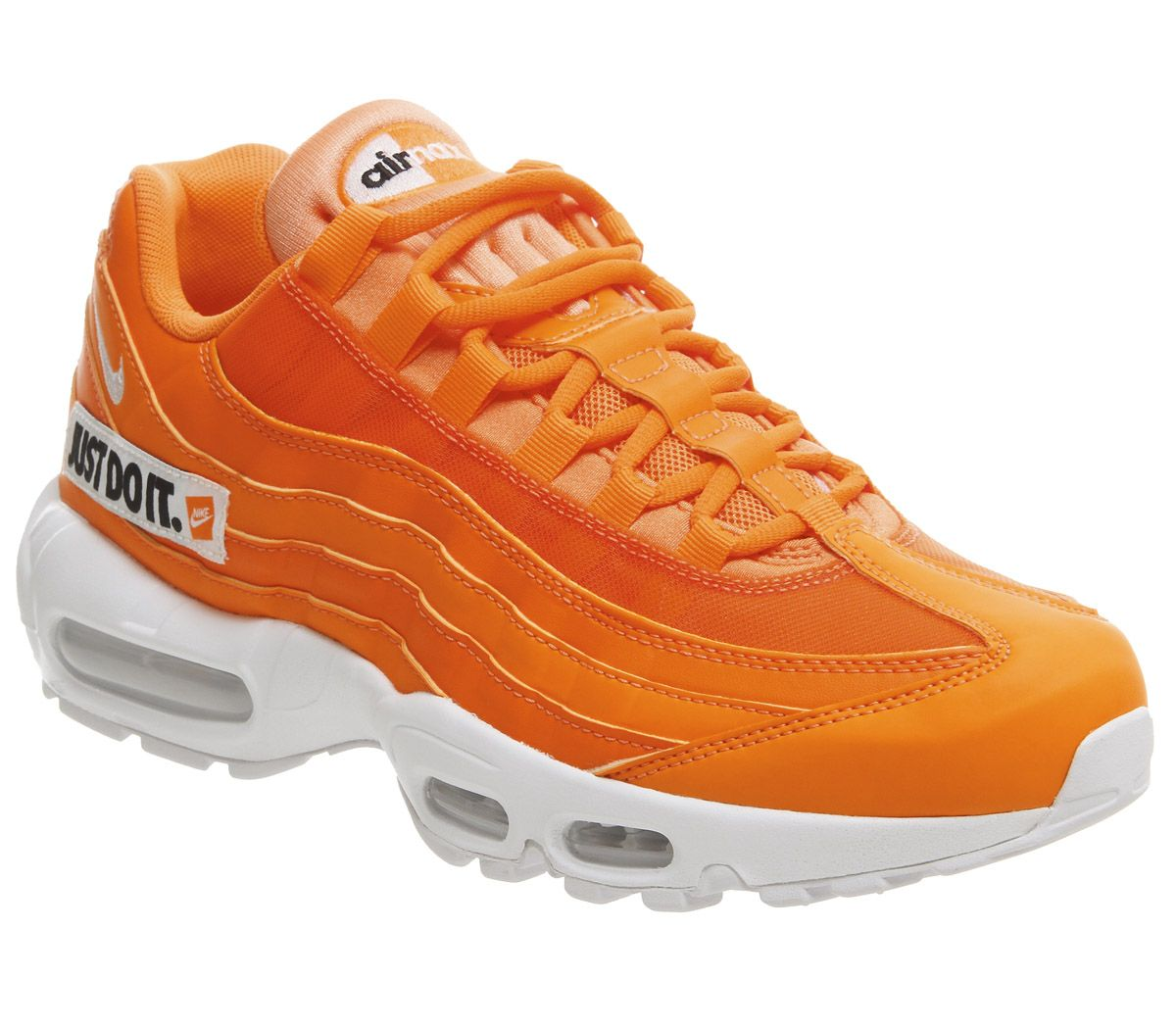 231076ec0e245 Nike Air Max 95 Total Orange White Black Jdi - Unisex Sports