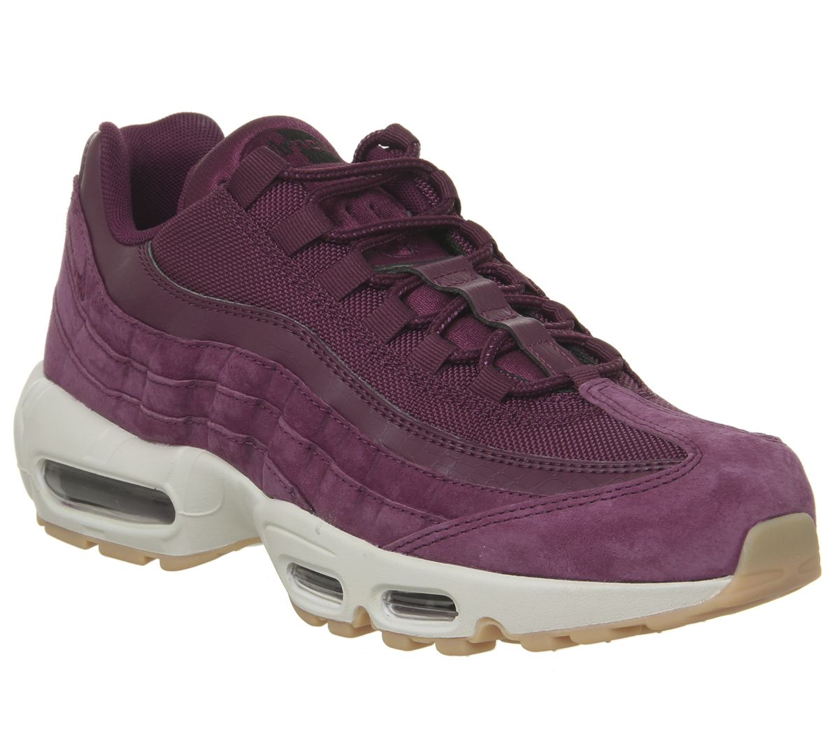 514b36cd1f Nike Air Max 95 Trainers Bordeaux Desert Sand - His trainers