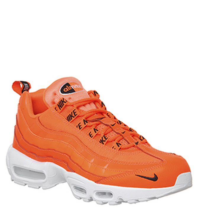 on sale 87748 ce42d Quickbuy. Launching 19-11-2018 · Nike Air Max 95 Trainers Total Orange  Black White. was £135.00 ...