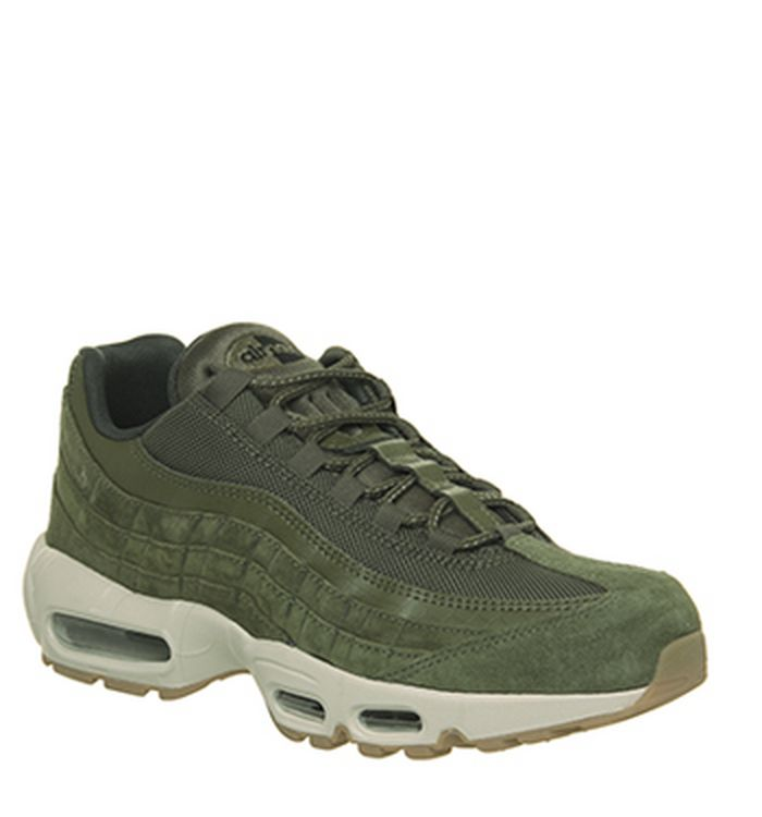 on sale 7a7e5 67152 Quickbuy. 11-10-2018. Nike Air Max 95 Trainers Olive Sequoia. was £135.00  NOW £65.00