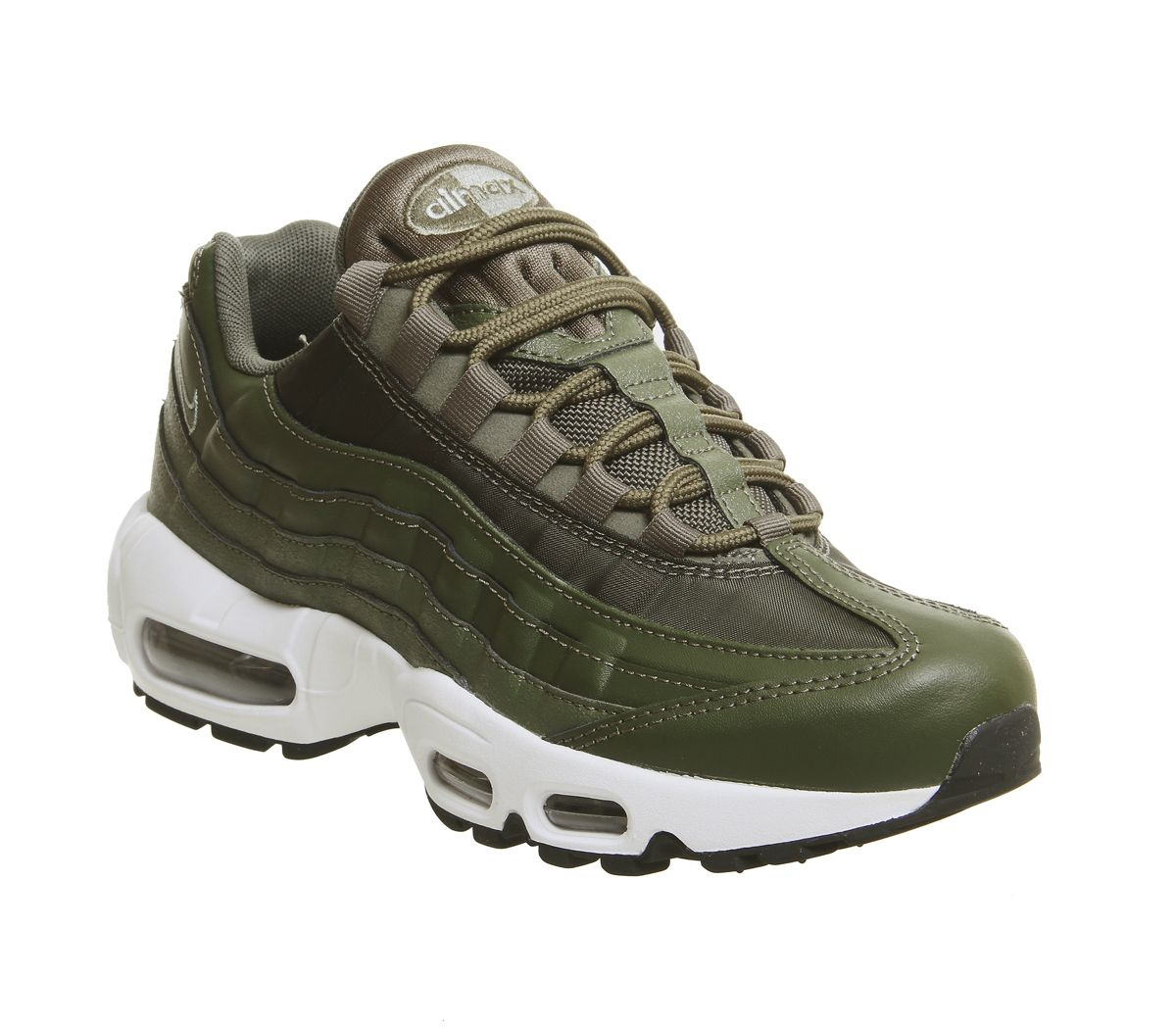 best cheap ad4de b05f2 Nike Air Max 95 Trainers Olive Canvas Mica Green - Hers trainers