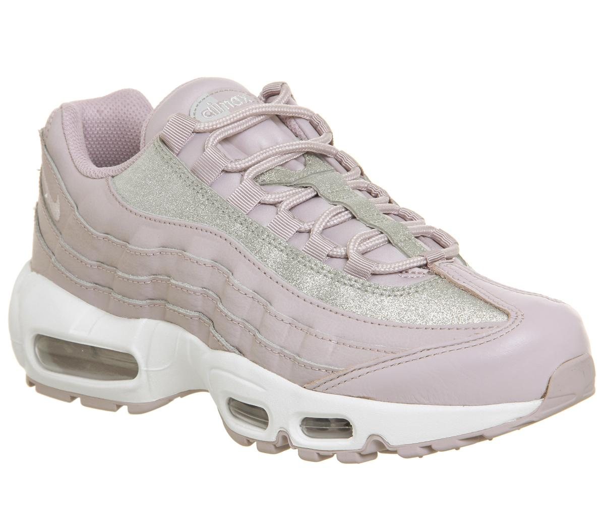 Nike Air Max 95 Trainers Glitter Pink - Hers trainers