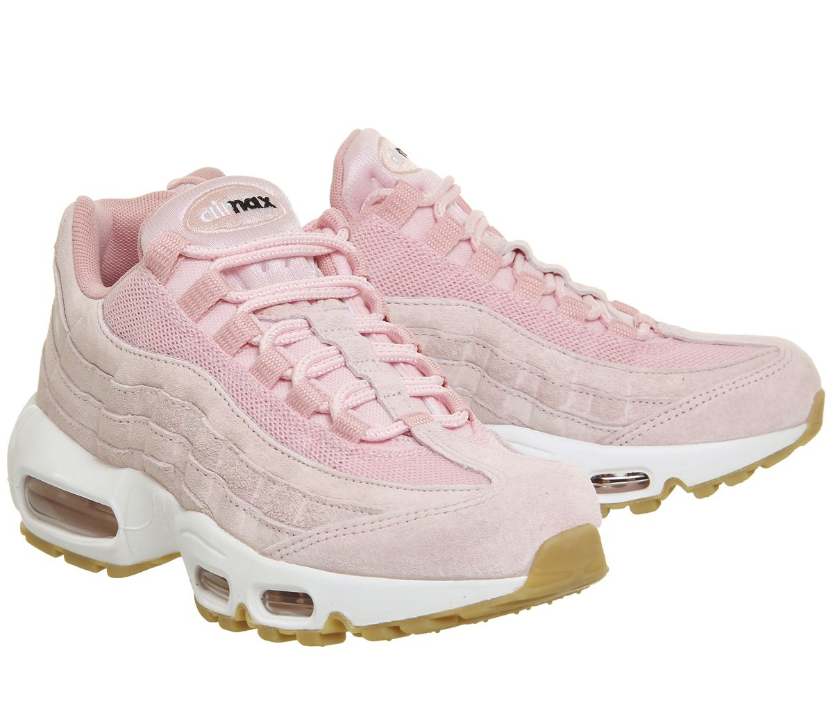 79a17c8f72 Nike Air Max 95 Prism Pink White Sheen - Hers trainers