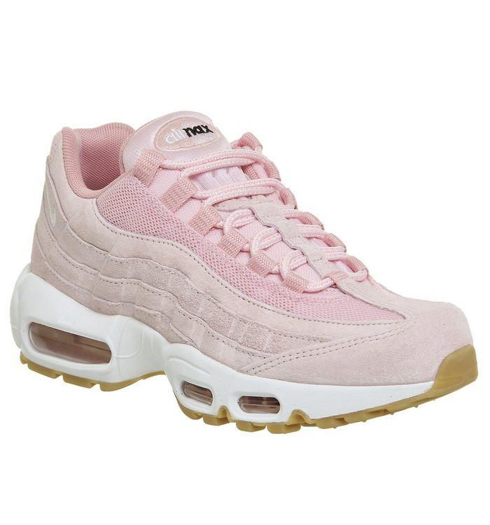 235f6ac7c Air Max 95; Nike, Air Max 95 , Prism Pink White Sheen ...