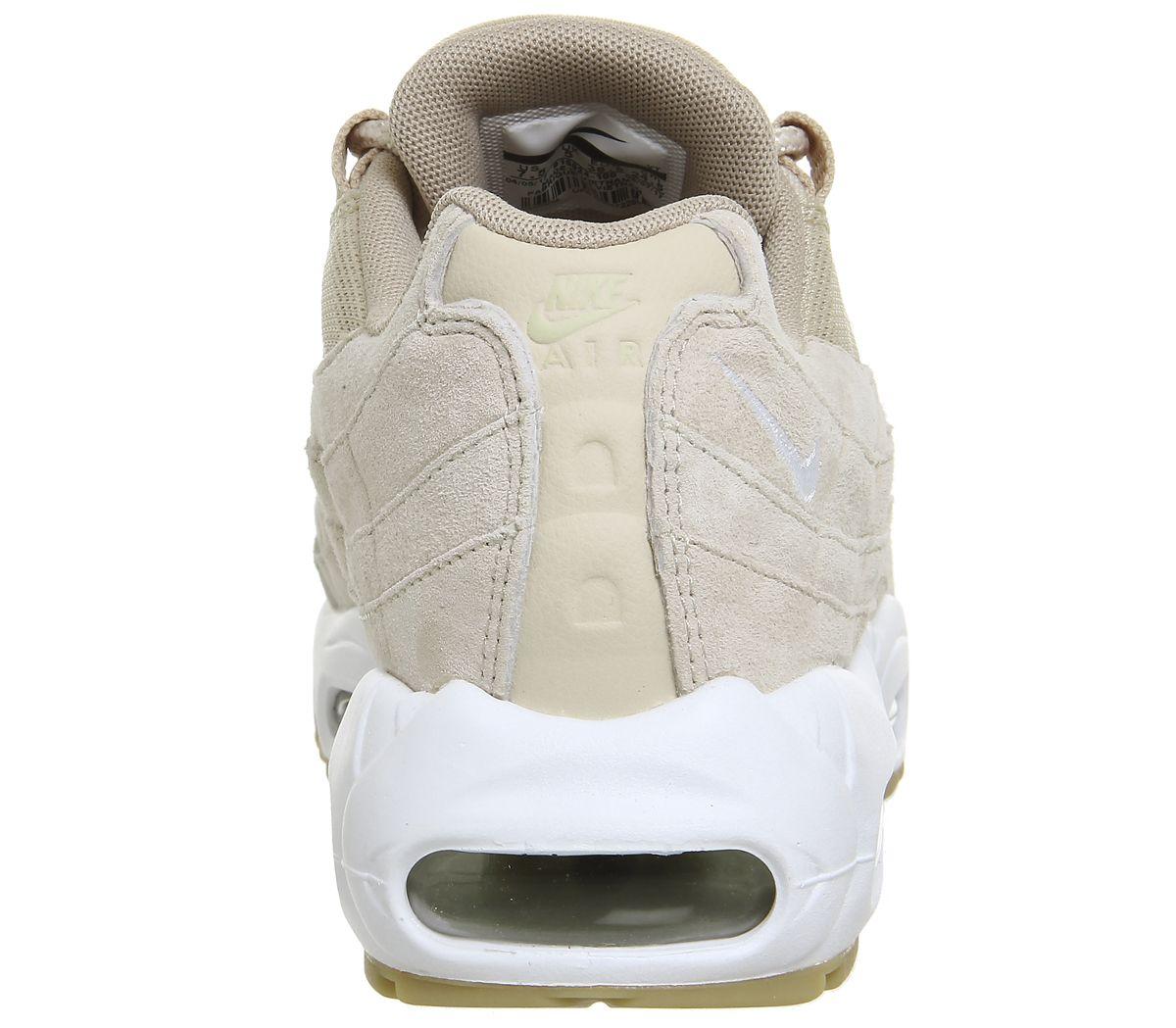 e6153293ba Nike Air Max 95 Oatmeal White - Unisex Sports