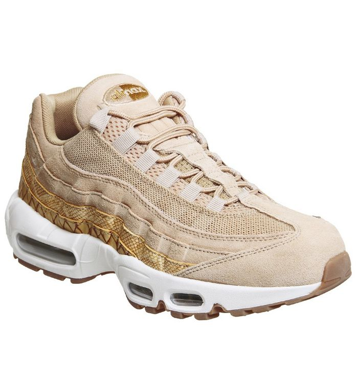 0edde2d9edfcd6 Nike Air Max 95 Trainers Vachetta Tan Elemental Gold - His trainers