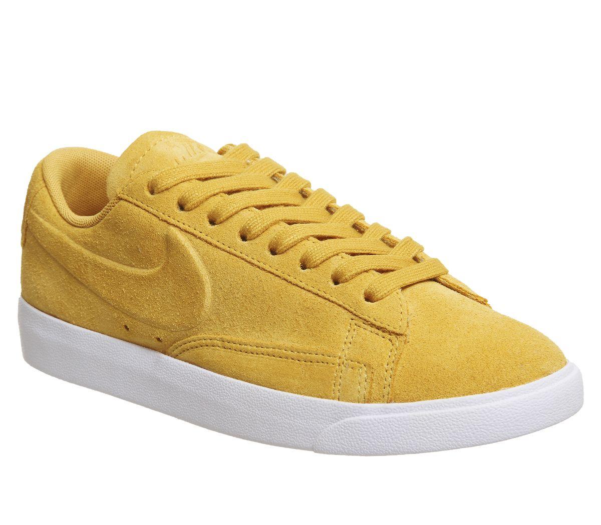 new concept 1f5ef 87214 Nike Blazer Low Trainers Mineral Yellow Mineral Yellow - Hers trainers