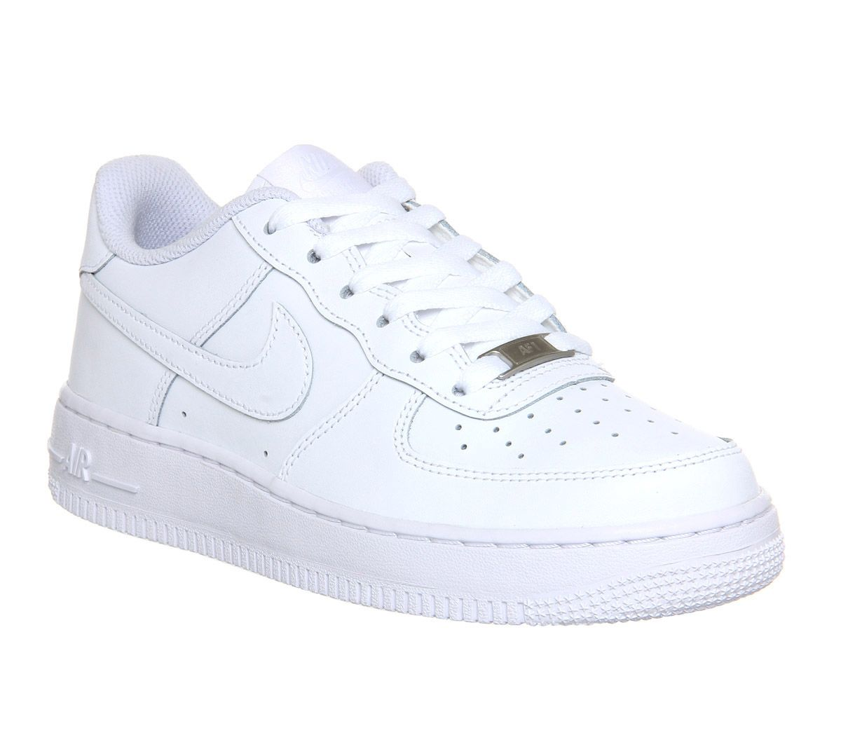 new arrival 40a74 4287b Nike Air Force 1 Trainers White - Kids Trainers