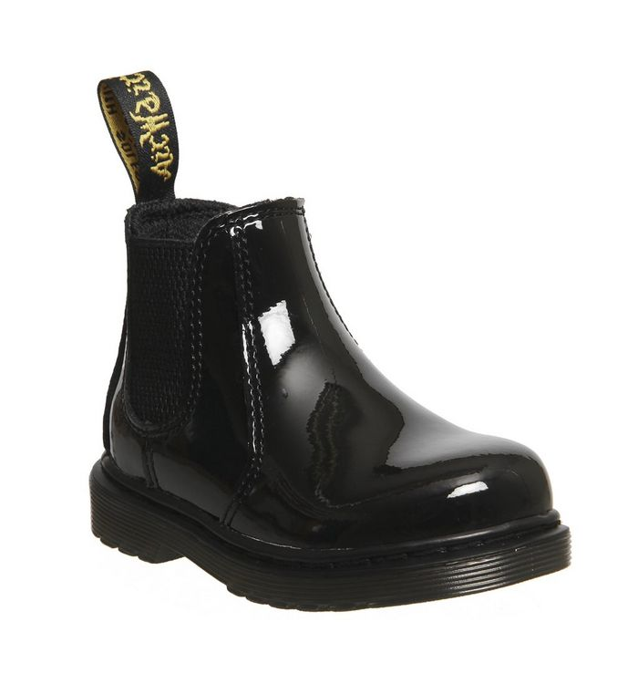 9138bf44ee3f Dr. Martens Brooklee Kids Lace up Boots Gunmetal Coated Glitter - Unisex