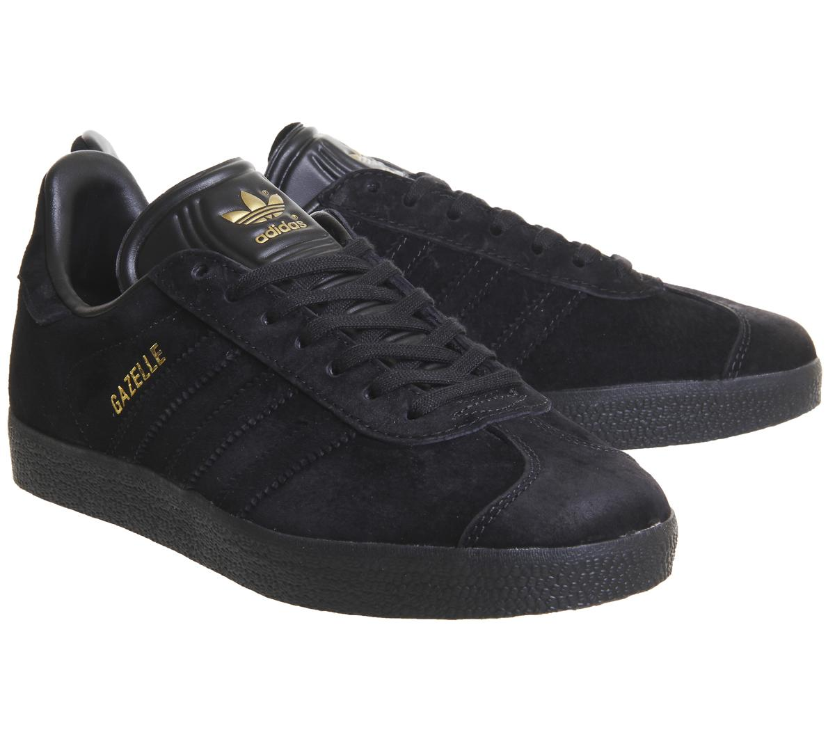 adidas Gazelle Black Gold Exclusive