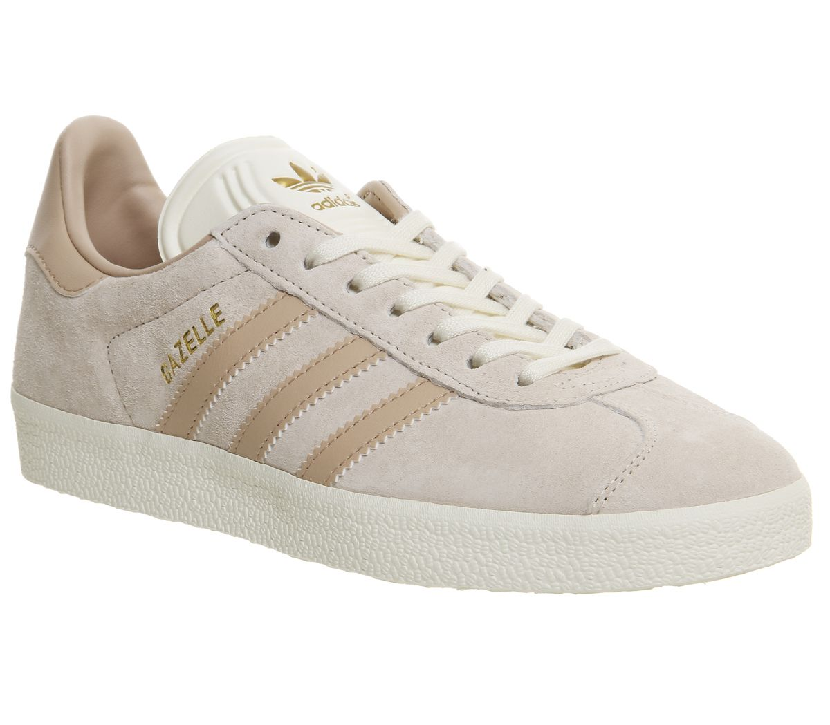 huge selection of b96b4 41f68 adidas Gazelle Trainers Linen Dust Pearl Cream - Hers Exclusives
