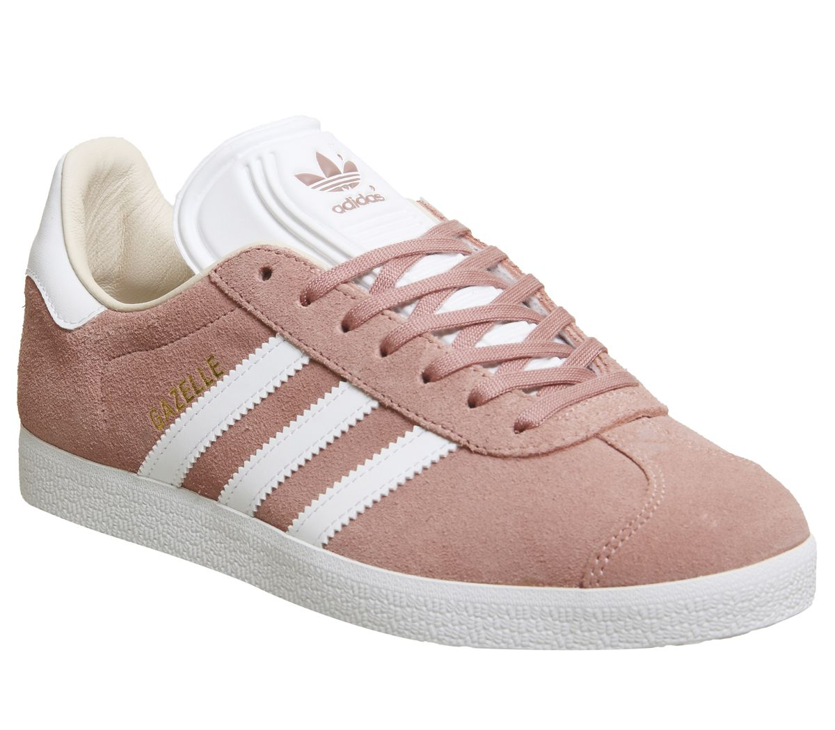 b0261ddca4c adidas Gazelle Trainers Ash Pearl White - Hers trainers