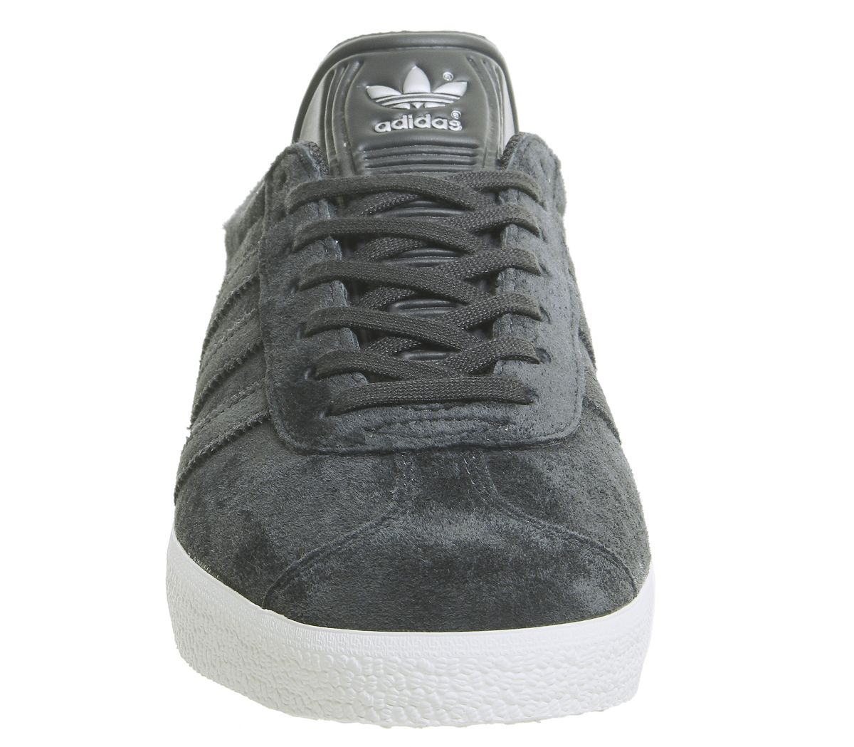 18858ad5 adidas Gazelle Trainers Night Grey Carbon Silver Exclusive - Unisex ...