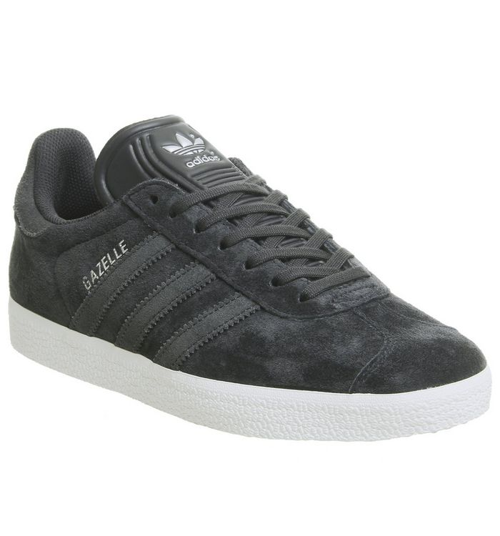 76e7ef51 adidas Gazelle Trainers Night Grey Carbon Silver Exclusive - Unisex Sports