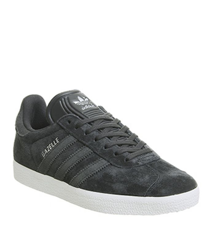 100% authentic 1b6f1 2495a 20-09-2018 · Adidas Gazelle Trainers Night Grey Carbon Silver Exclusive.  £74.99. Quickbuy