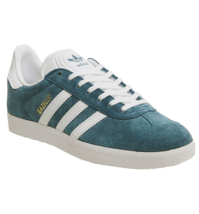 best sneakers 70104 f49bf adidas Gazelle Trainers Collegiate Navy White - His trainers
