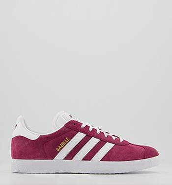 adidas Gazelle Trainers Ice Purple White Gold Met His trainers
