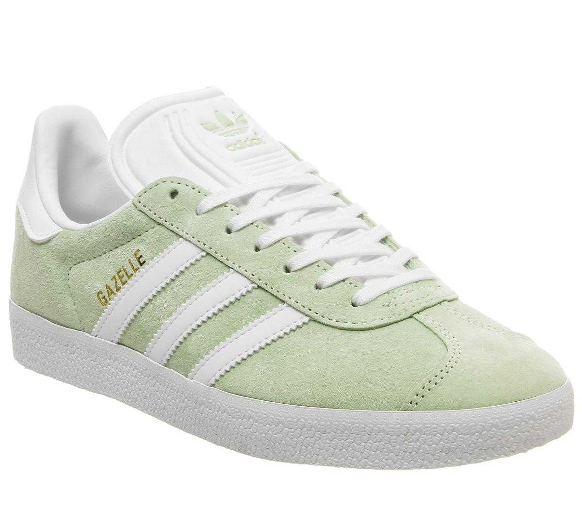 adidas Gazelle Trainers Glow Green