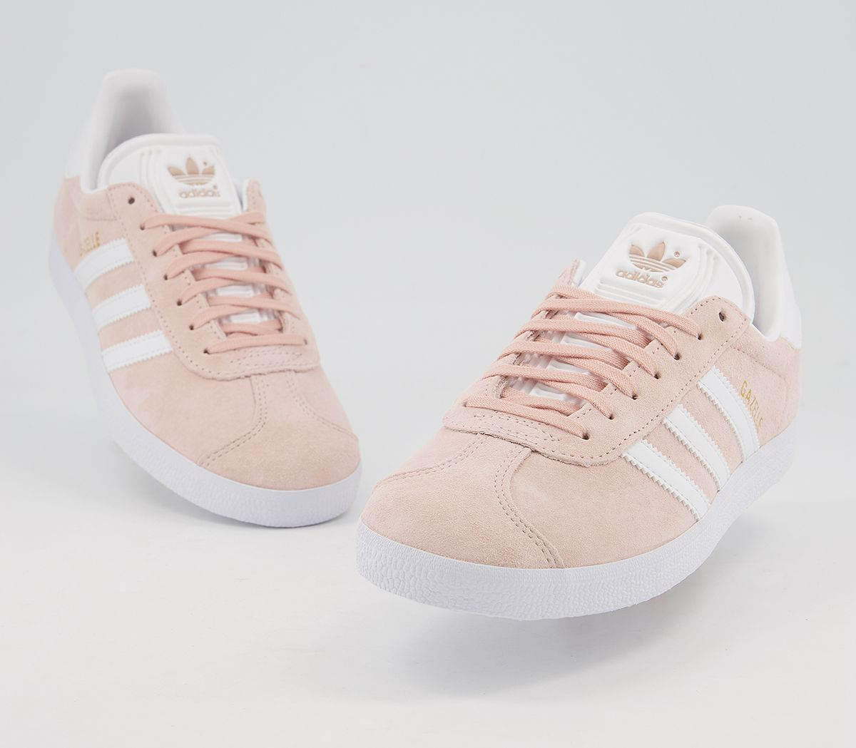 big sale f317c f94c9 adidas Gazelle Vapour Pink White - His trainers