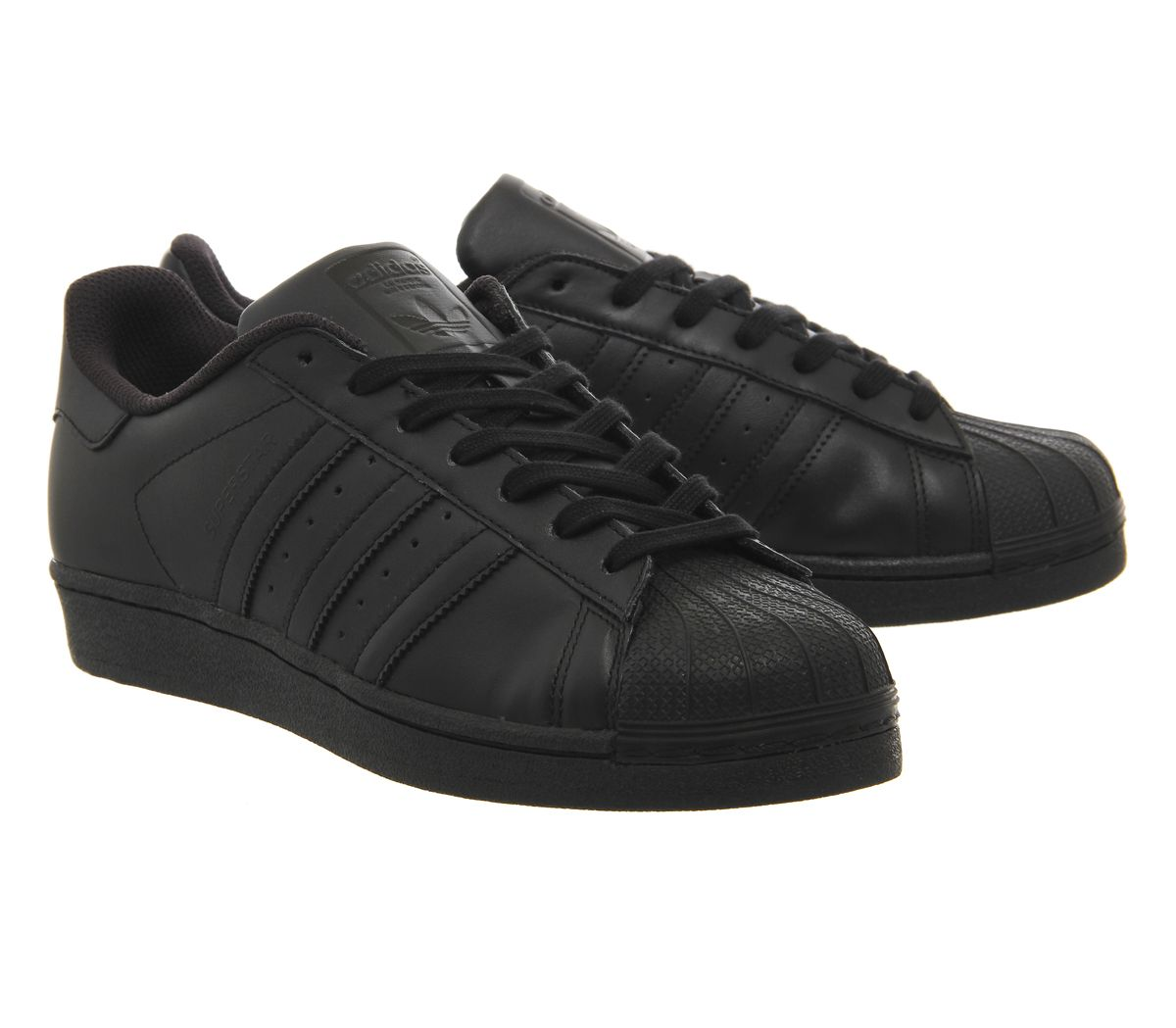 77b0d562234 adidas Superstar 1 Black Mono Foundation - His trainers