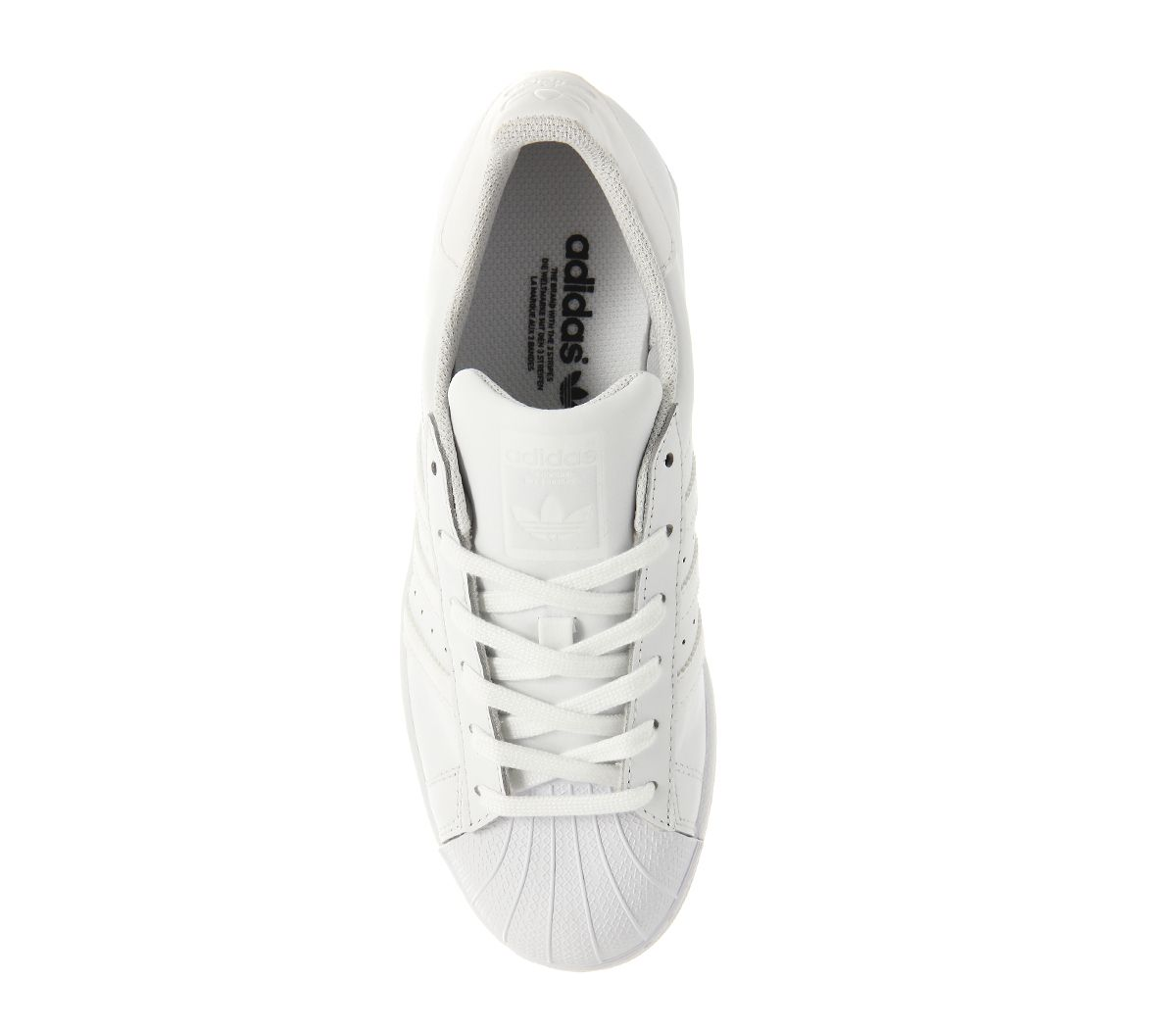 5e54c6000c4 adidas Superstar 1 White Mono Foundation - Unisex Sports