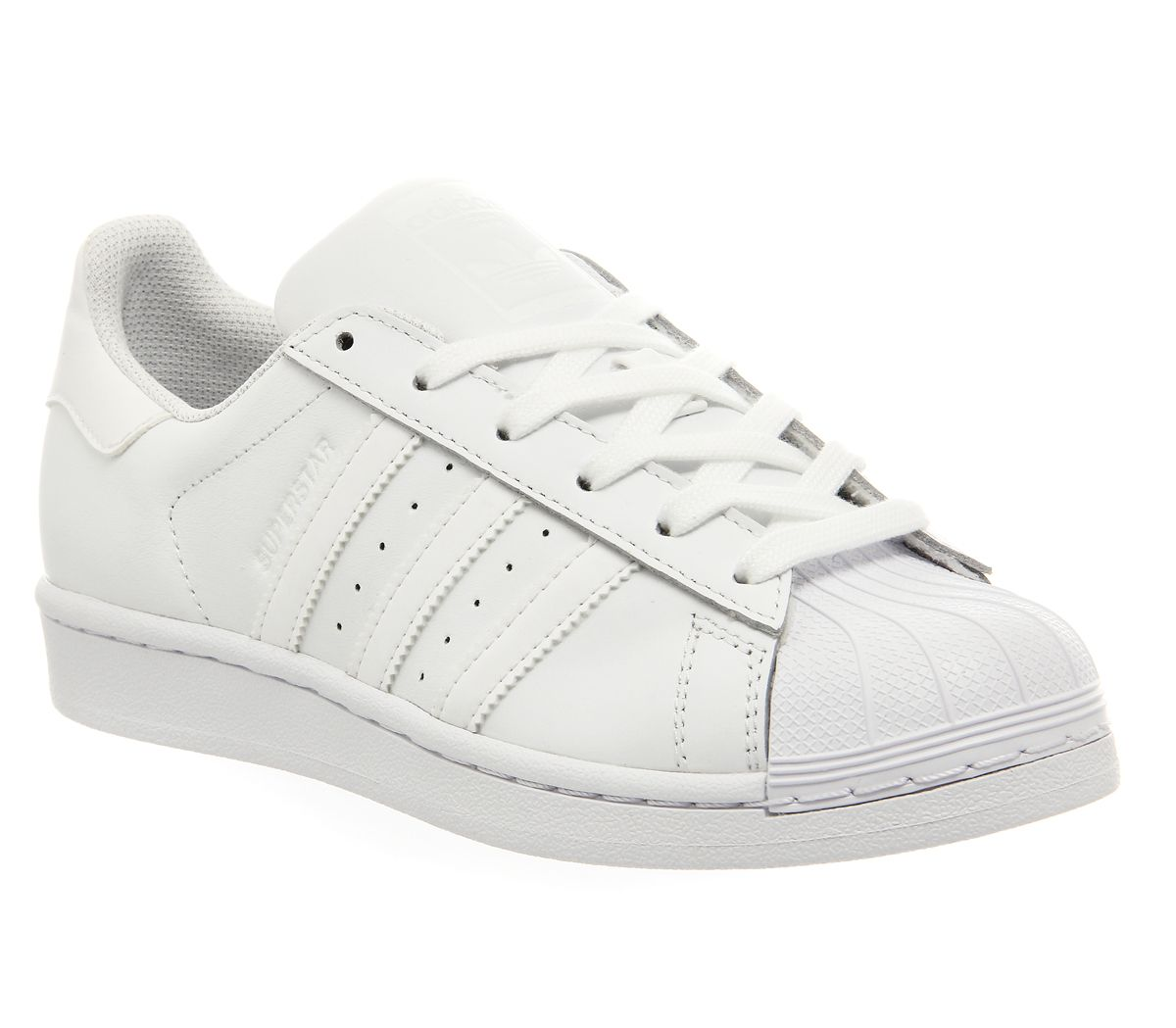b86fc67bfb7 adidas Superstar 1 White Mono Foundation - Unisex Sports