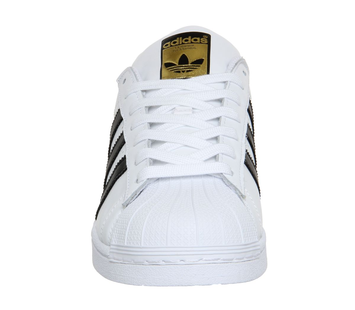 new concept 28663 3b92e adidas Superstar 1 White Black Foundation - Unisex Sports
