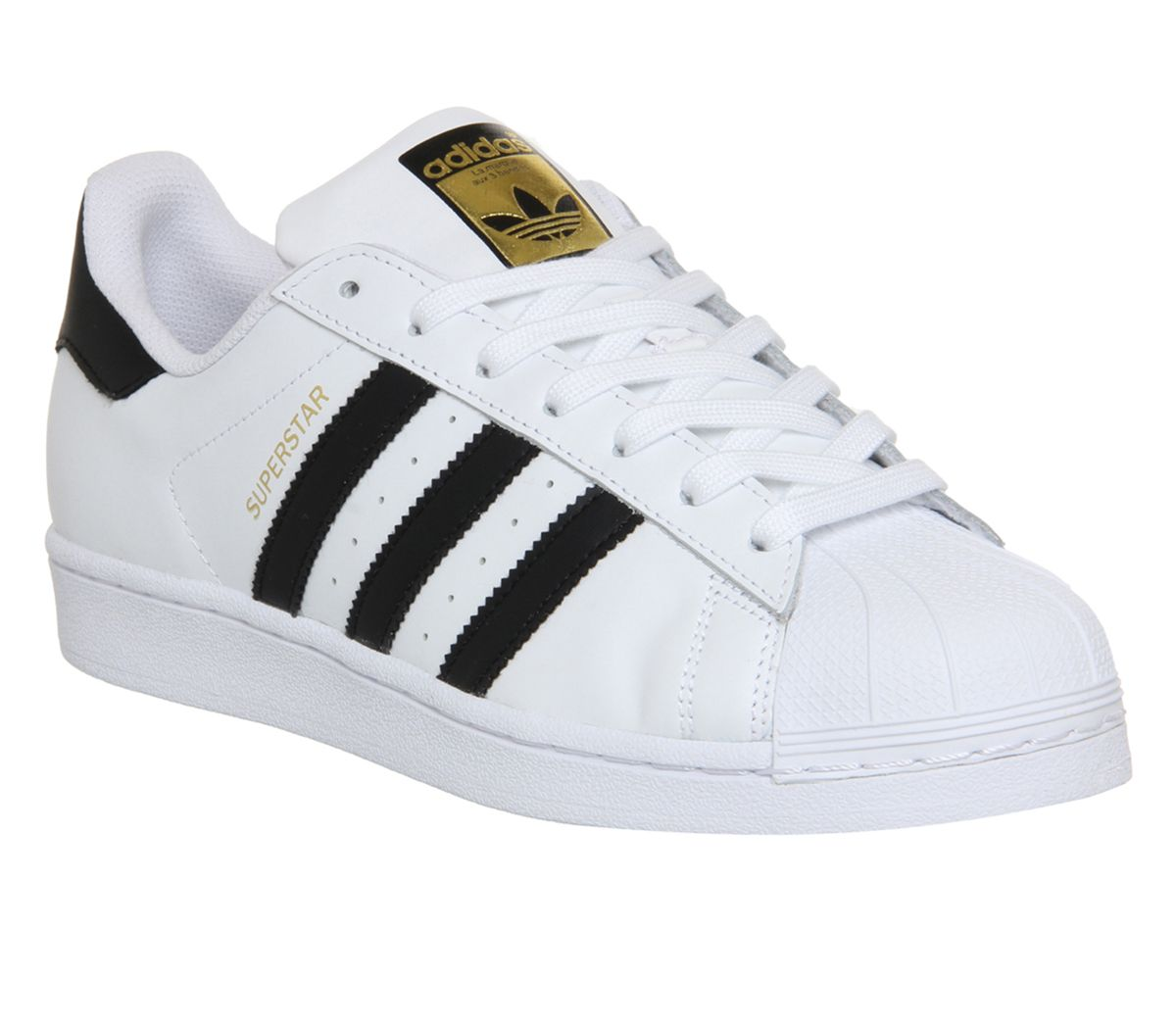 33d2927f39e adidas Superstar 1 White Black Foundation - Unisex Sports