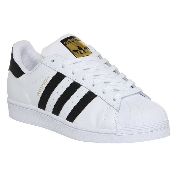adidas Superstar 1 WHITE BLACK FOUNDATION