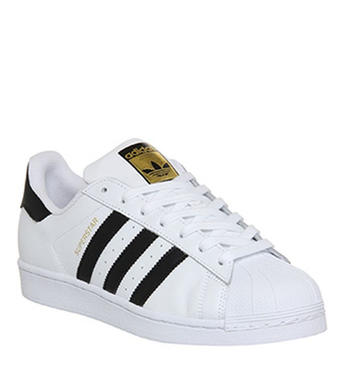 best website 85529 9c2ee adidas. Superstar Trainers White Black Foundation. £49.99. Quickbuy.  26-07-2014