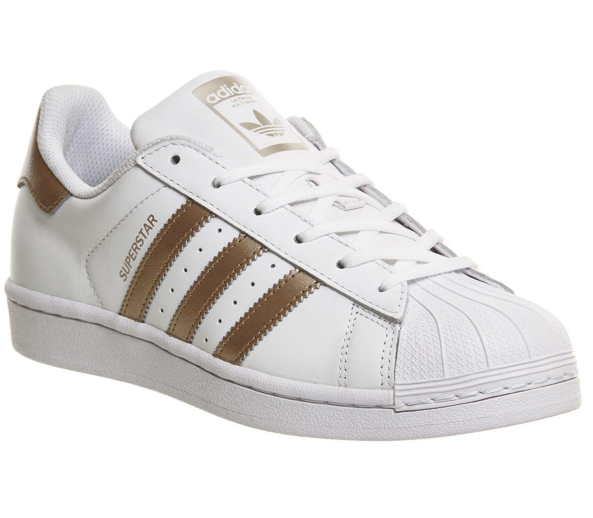 81da6dd1a338 adidas Superstar 1 White Copper - Hers trainers