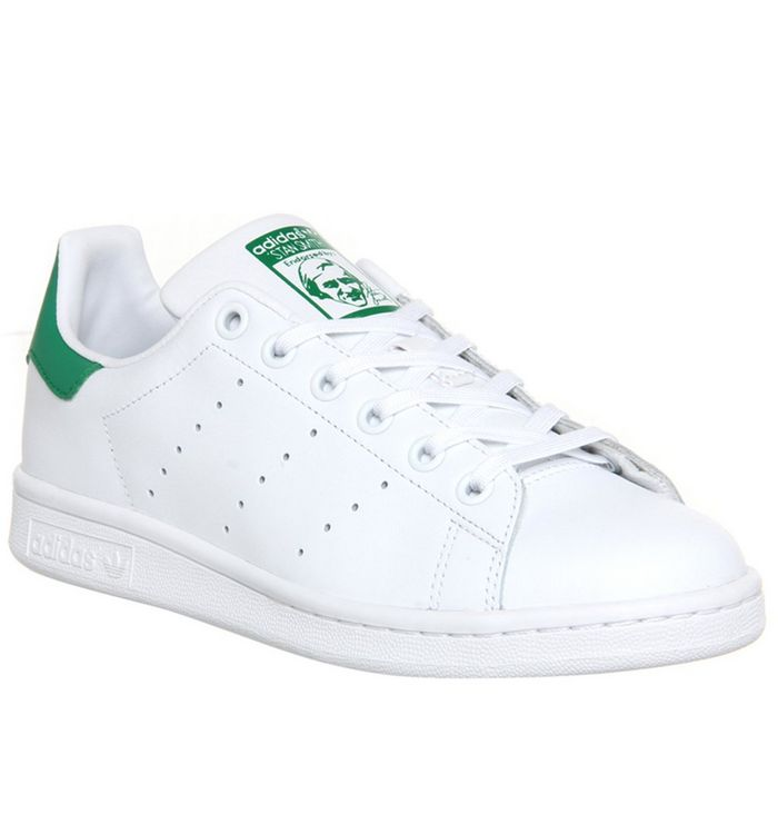 adidas Stan Smith CORE WHITE GREEN