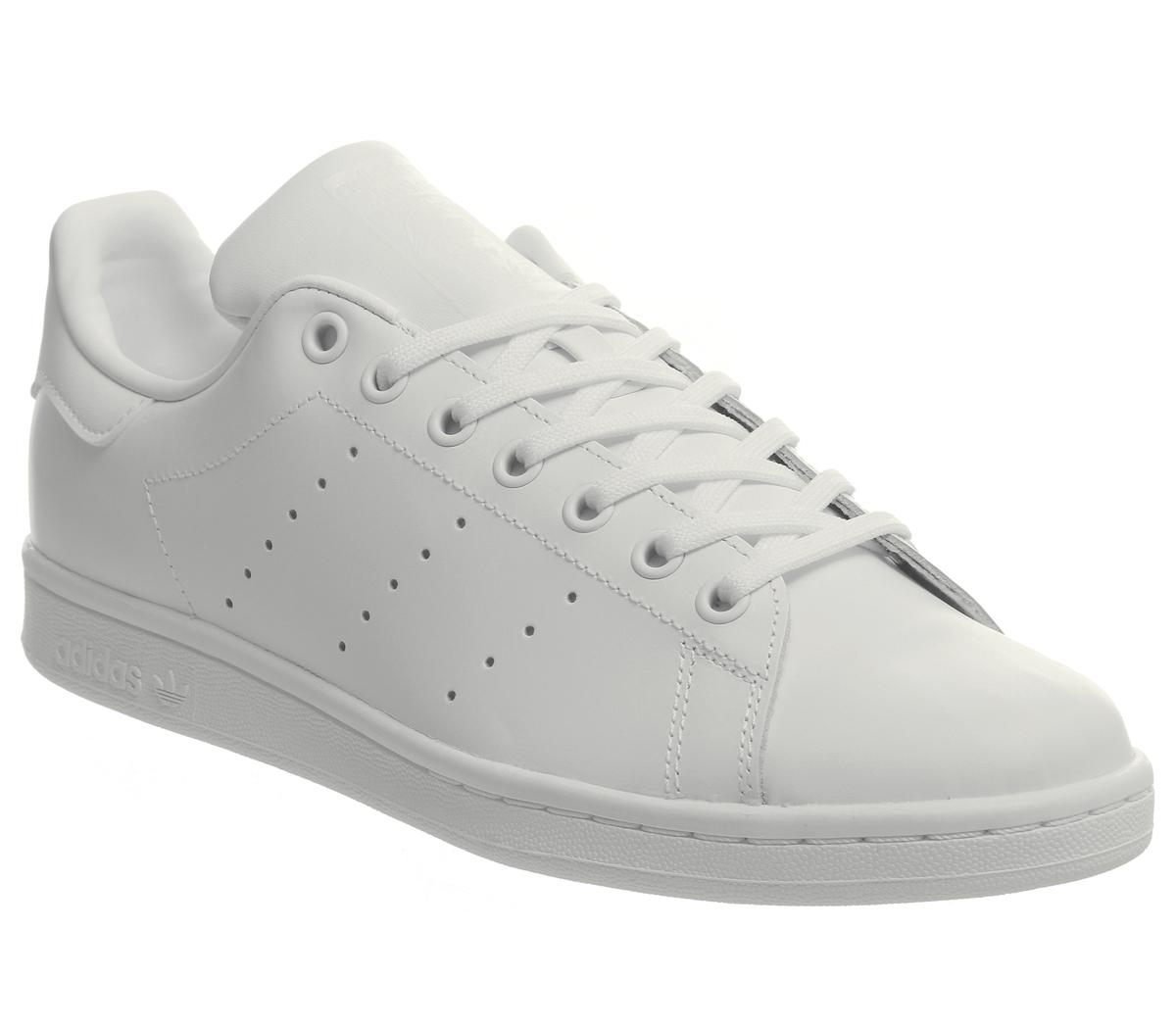 Return Of A Classic: These Triple White adidas Stan Smiths