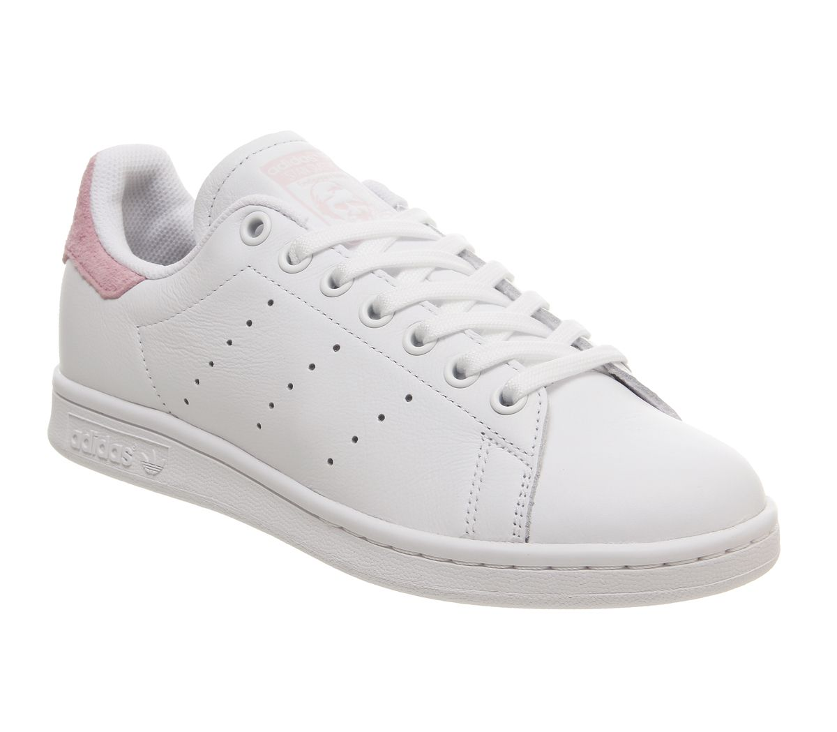 0b9f8de7863 adidas Stan Smith Trainers White Clear Pink Copper Exclusive - Hers ...