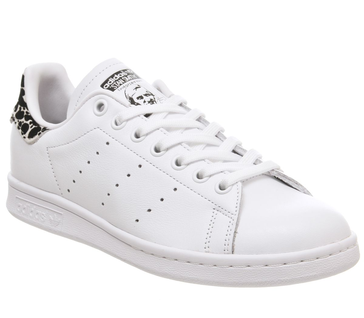 acheter populaire a0db6 3f671 adidas Stan Smith Trainers Off White Core Black Shock Pink ...