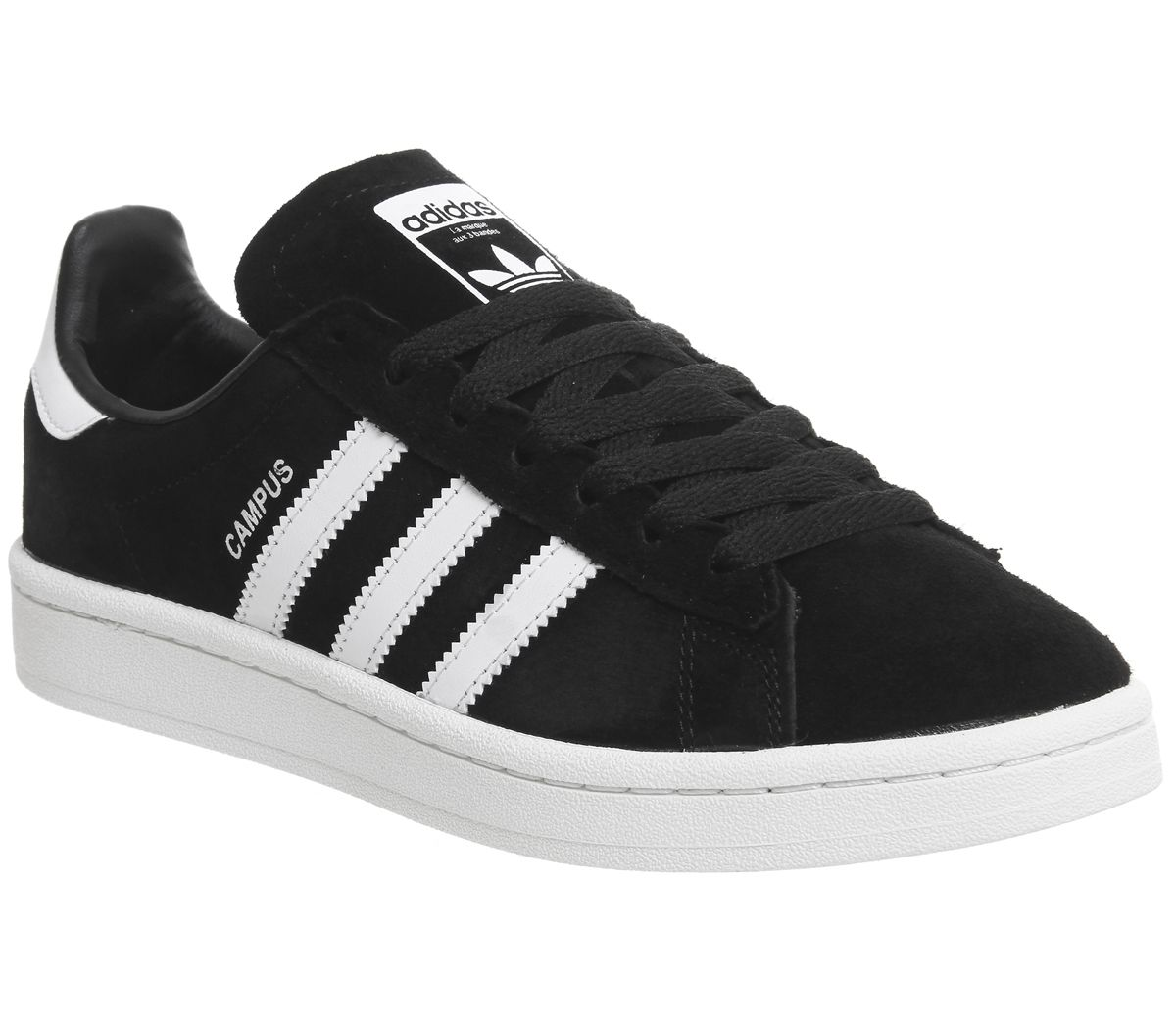 huge selection of 8dd81 f846d adidas Campus Black White - Unisex Sports