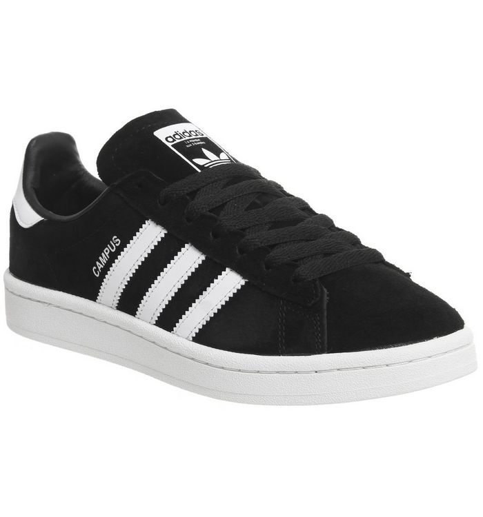 adidas Campus BLACK WHITE