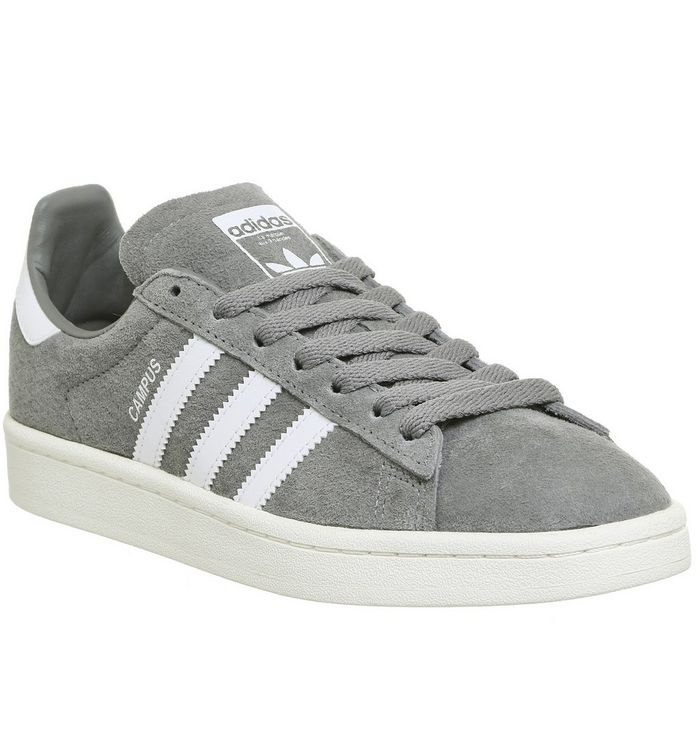 adidas Campus GREY THREE WHITE