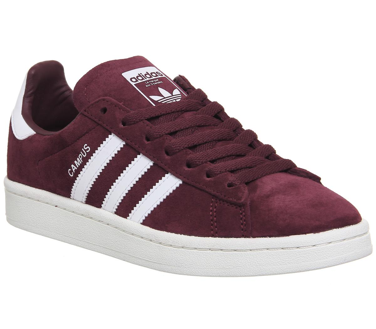 adidas Gazelle Jnr Trainers Collegiate Burgundy Hers trainers