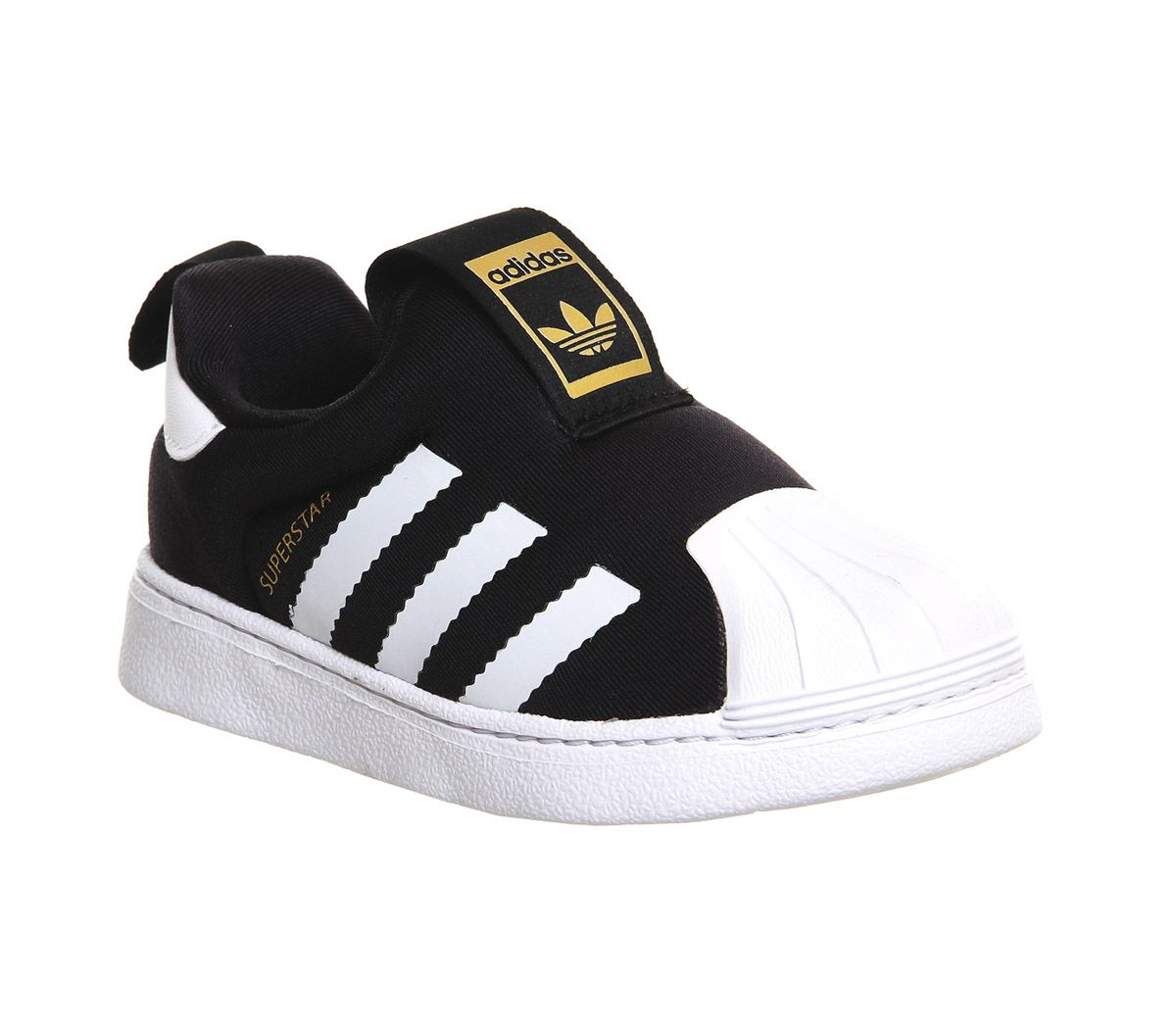 new concept 1e9cf 9c98a adidas Superstar 360 Inf 3-9 Core Black - Unisex