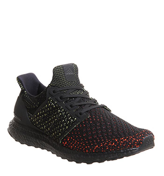 7cf50673a76 adidas Ultraboost Ultra Boost Trainers Core Black Active Red. £150.00.  Quickbuy. Launching 21-06-2018