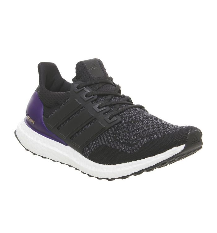 41d8cff5169 adidas Ultraboost Ultra Boost Trainers Core Black Blue Og - His trainers