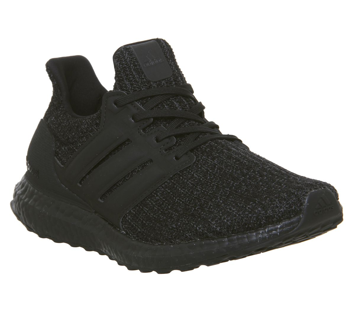 d8758166cee47 adidas Ultraboost Ultra Boost Trainers Core Black Active Red ...
